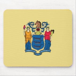 Mousepad Bandeira de New-jersey