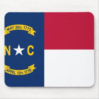 Mousepad Bandeira de North Carolina