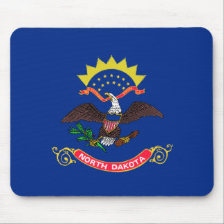 Mousepad Bandeira de North Dakota