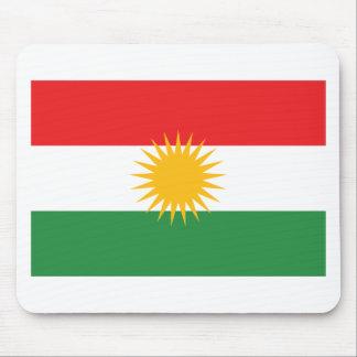 Mousepad Bandeira do Curdistão; Curdo; Curdo
