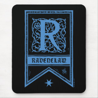 Mousepad Bandeira do monograma de Harry Potter | Ravenclaw