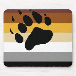Mousepad Bandeira do orgulho do urso