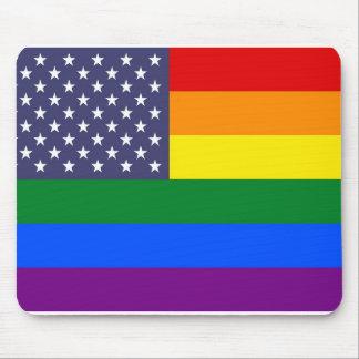 Mousepad Bandeira do orgulho dos E.U.