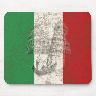 Mousepad Bandeira e símbolos de Italia ID157