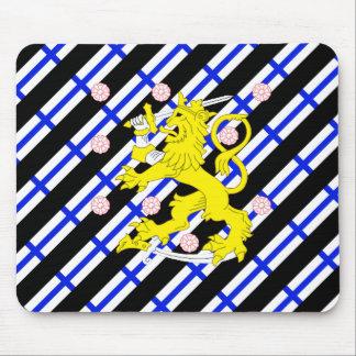 Mousepad Bandeira finlandesa das listras