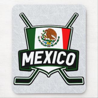 Mousepad Bandeira Mousemat do hóquei em gelo de México