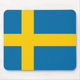Mousepad Bandeira nacional da suecia