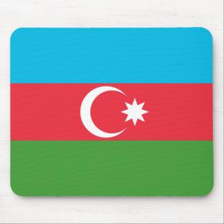 Mousepad Bandeira nacional do mundo de Azerbaijan