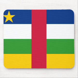 Mousepad Bandeira nacional do mundo de Central African