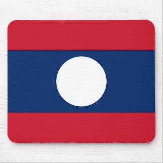 Mousepad Bandeira nacional do mundo de Laos
