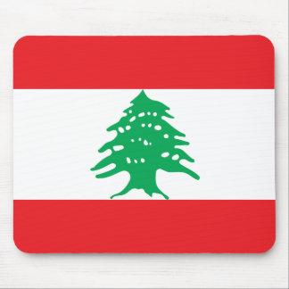 Mousepad Bandeira nacional do mundo de Líbano