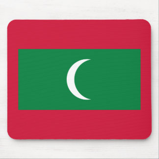 Mousepad Bandeira nacional do mundo de Maldives