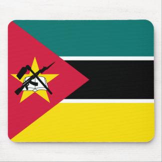 Mousepad Bandeira nacional do mundo de Mozambique