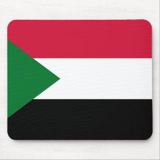Mousepad Bandeira nacional do mundo de Sudão