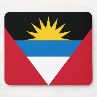 Mousepad Bandeira patriótica de Antígua e de Barbuda