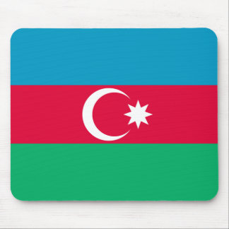 Mousepad Bandeira patriótica de Azerbaijan