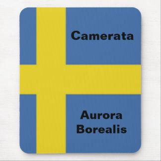 Mousepad Bandeira sueco, Aurora Borealis de Camerata