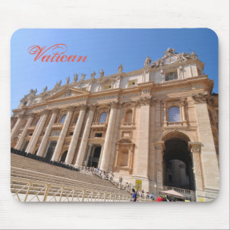 Mousepad Basílica de San Pietro no vaticano, Roma, Italia