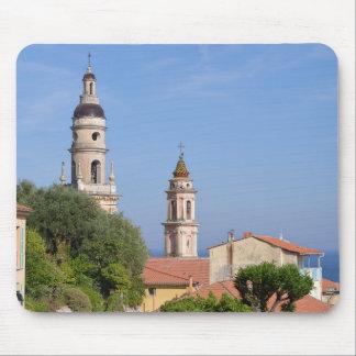 Mousepad Basílica em Menton em France