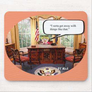 Mousepad Bebê de Trumpy no escritório - tapete do rato