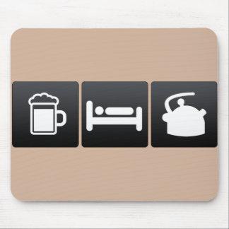 Mousepad Bebida, sono e chaleiras de chá