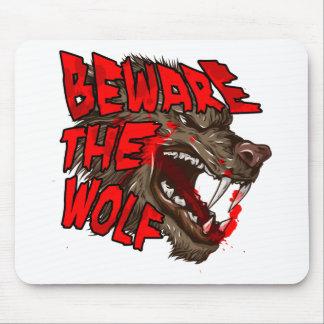 Mousepad Beware o lobo