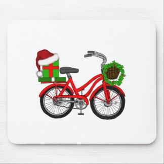 Mousepad bicicleta do xmas