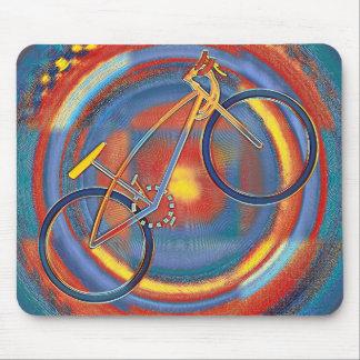 Mousepad bicicleta trippy