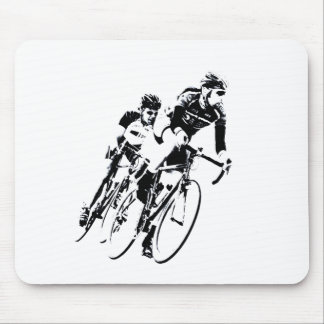 Mousepad Bicycle pilotos na volta