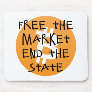 Mousepad Bitcoin - livre a extremidade do mercado o estado