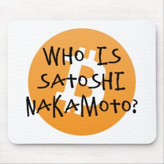 Mousepad Bitcoin - quem é Satoshi Nakamoto?