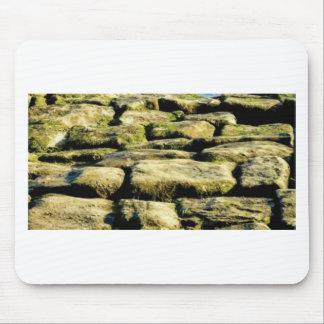 Mousepad blocos do amarelo de rocha