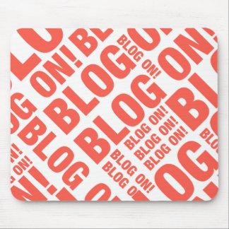 Mousepad Blogue no tapete do rato