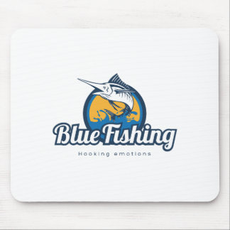 Mousepad Blue Fishing Products