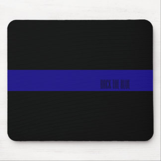 Mousepad Blue Line fino personalizou o tapete do rato
