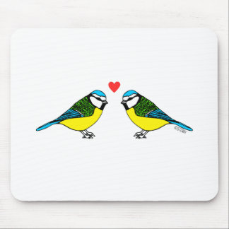 Mousepad Bluetits no amor