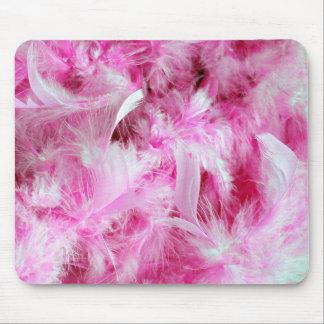 Mousepad Boa cor-de-rosa