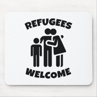 Mousepad Boa vinda dos refugiados