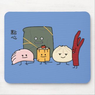 Mousepad Bolo chinês dos bolos da bolinha de massa de Bao