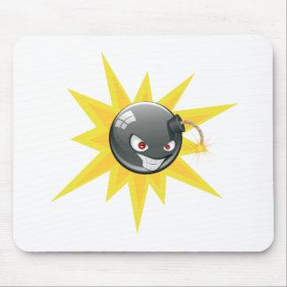 Mousepad Bomba redonda má 2