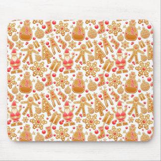 Mousepad Boneco de neve de Rudolph da árvore de Claus do