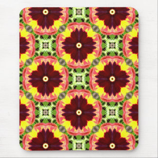 Mousepad ~ bonito do Fractal dos Pansies do ~