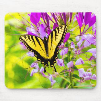 Mousepad Borboleta amarela de Swallowtail