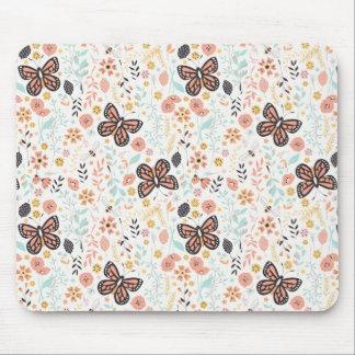 Mousepad Borboletas e abelhas das flores