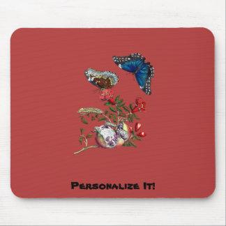 Mousepad Borboletas na romã