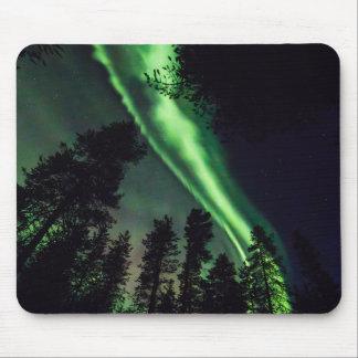 Mousepad Borealis da Aurora em Lapland finlandês