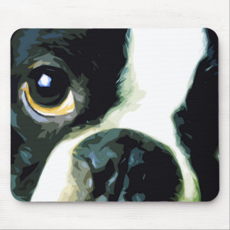 Mousepad Boston grande moderna Terrier