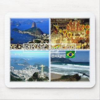 Mousepad BR Brasil - Rio de Janiero - naco de açúcar -