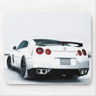 Mousepad Branco de Nissan GT-R