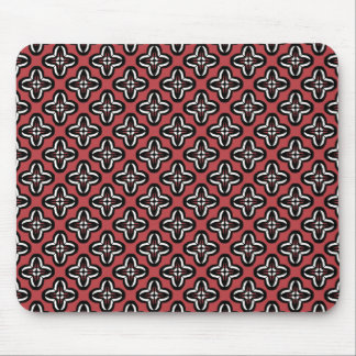 Mousepad Brancos preto e vermelho todos abaixo